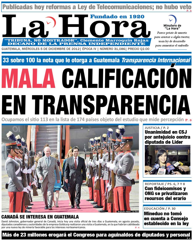 Diario La Hora 05-12-2012 by La Hora - issuu