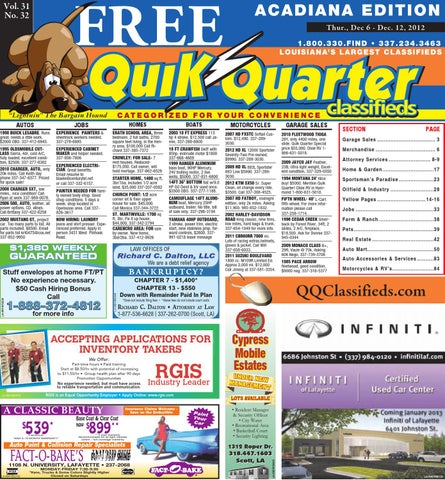2f55cfba QQ Acadiana by Part of the USA TODAY NETWORK - issuu