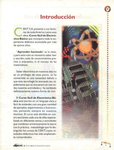 Curso De Electrónica Cekit Volumen 1 By William Andres Jojoa Lopez Issuu