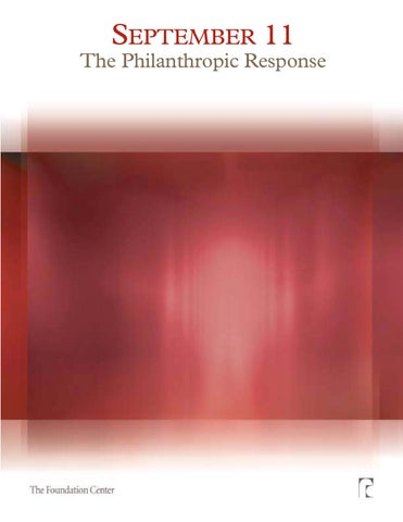 533b7bab77 The Philanthropic Response by Jelani Brown - issuu