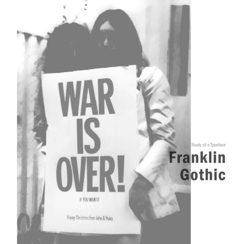 Franklin Gothic by Stuthi Vasudevan - issuu