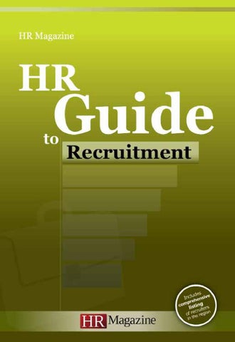 5073349b48268 HR Guide to Recruitment by HR Magazine - issuu