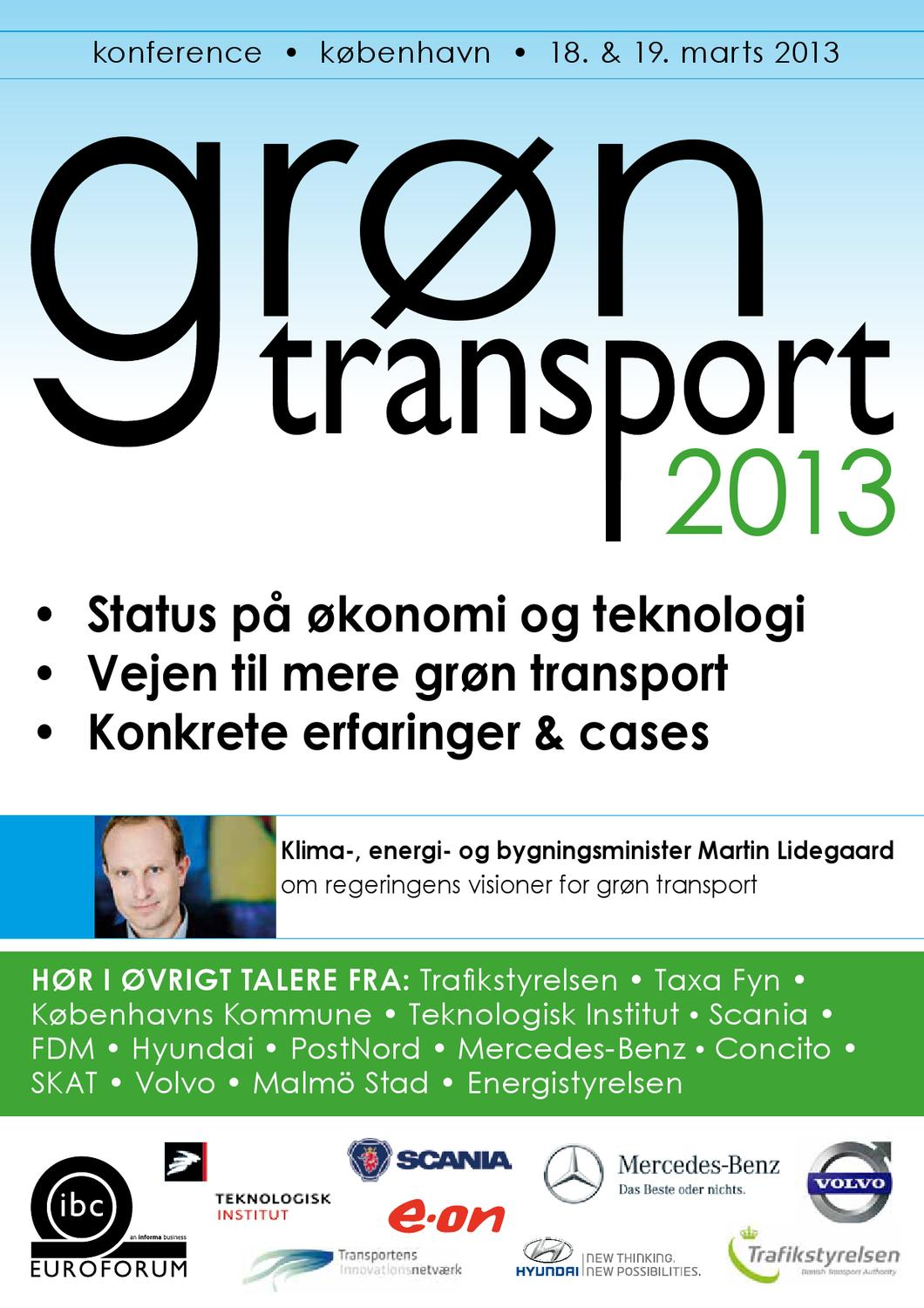 Grøn transport 2013 by Insight Events - Issuu