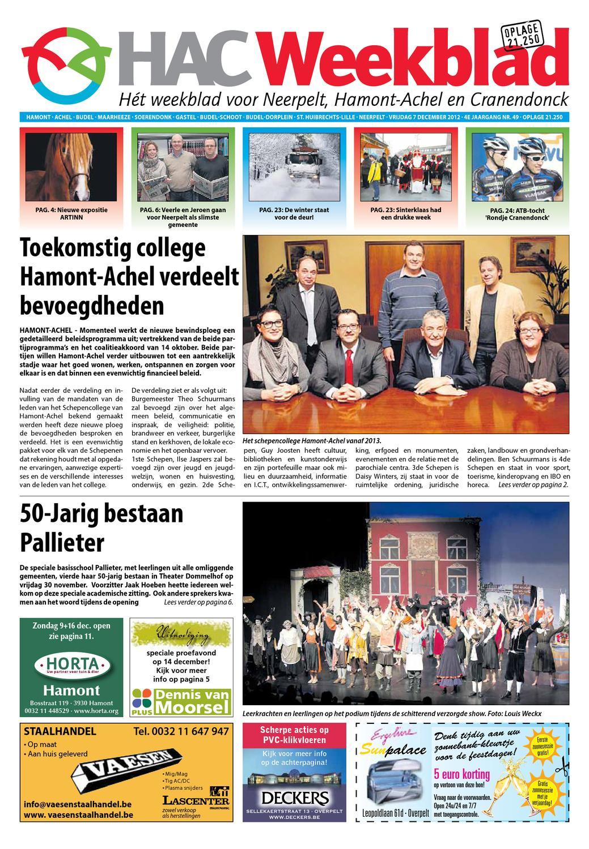 49 2012 By Weekblad Neerpelt Week Hac Issuu 8vmN0wOn
