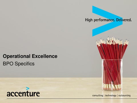 S2s operational excellence bpo specifics by accenture issuu page 1 operational excellence bpo specifics ccuart Choice Image