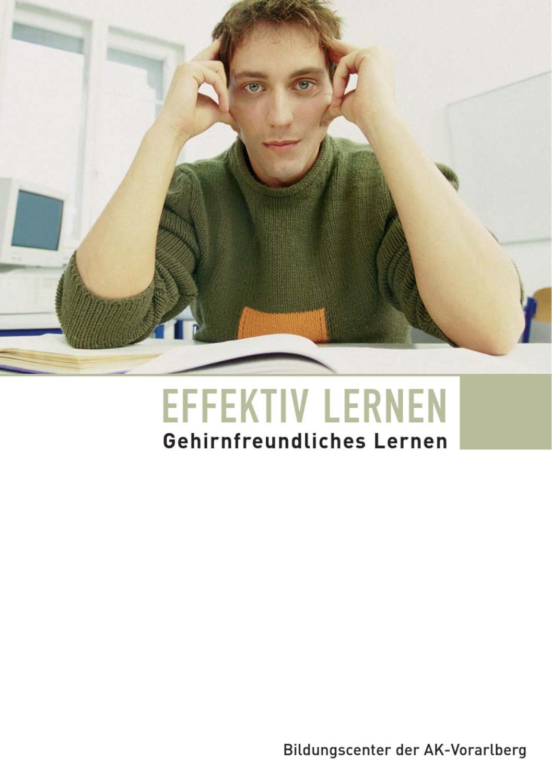 Effektiv Lernen by AK Vorarlberg - issuu