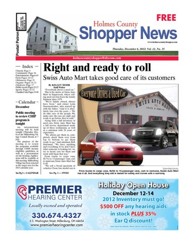 Holmes County Shopper Dec 6 2012 By Gatehouse Media Neo Issuu