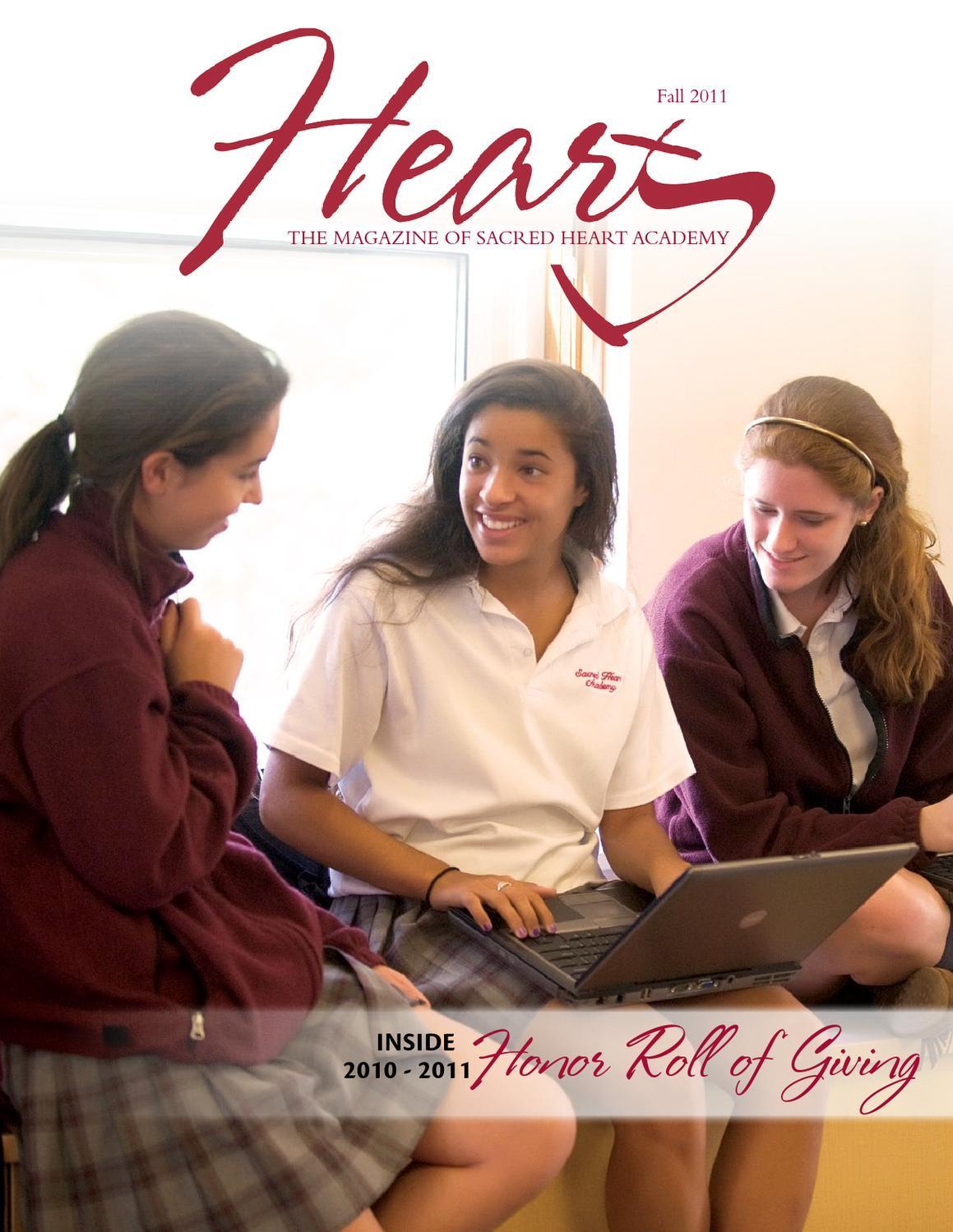 2011 Fall Heart Magazine By Sacred Heart Academy Issuu