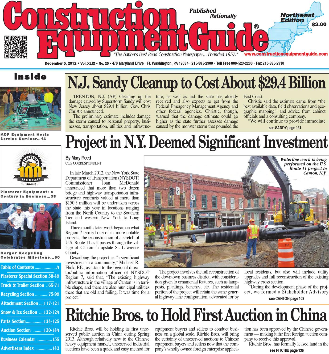 Northeast 25 2012 By Construction Equipment Guide Issuu Circuit Breaker Lockout Csafe Fabtech Id Products