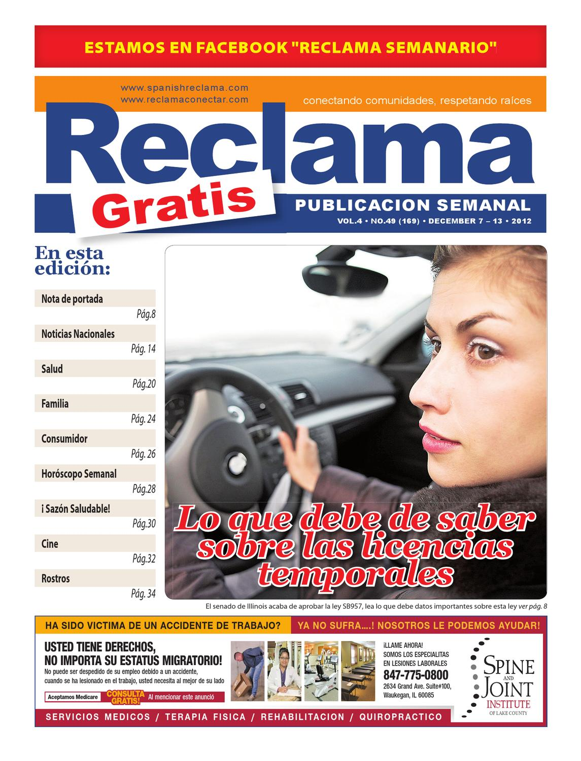 Spanish Reclama by Andy Reev - issuu