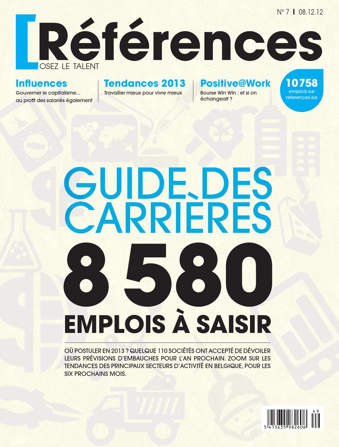 Dossier Special Guide Des Carrieres 2013 Les Secteurs Qui Recrutent By Jobs Careers CV