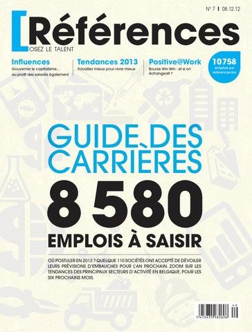 Dossier Spcial Guide Des Carrires 2013 Les Secteurs Qui