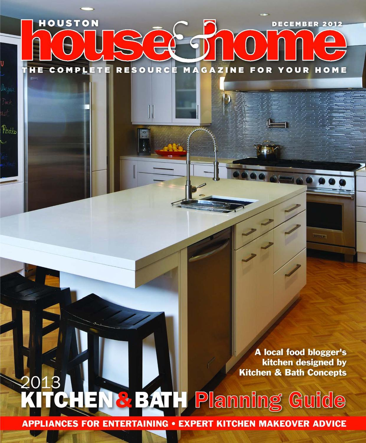 Houston House Home December 2012 Issue By Magazine Issuu