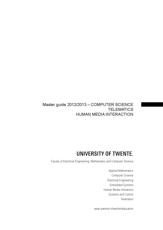msc thesis utwente