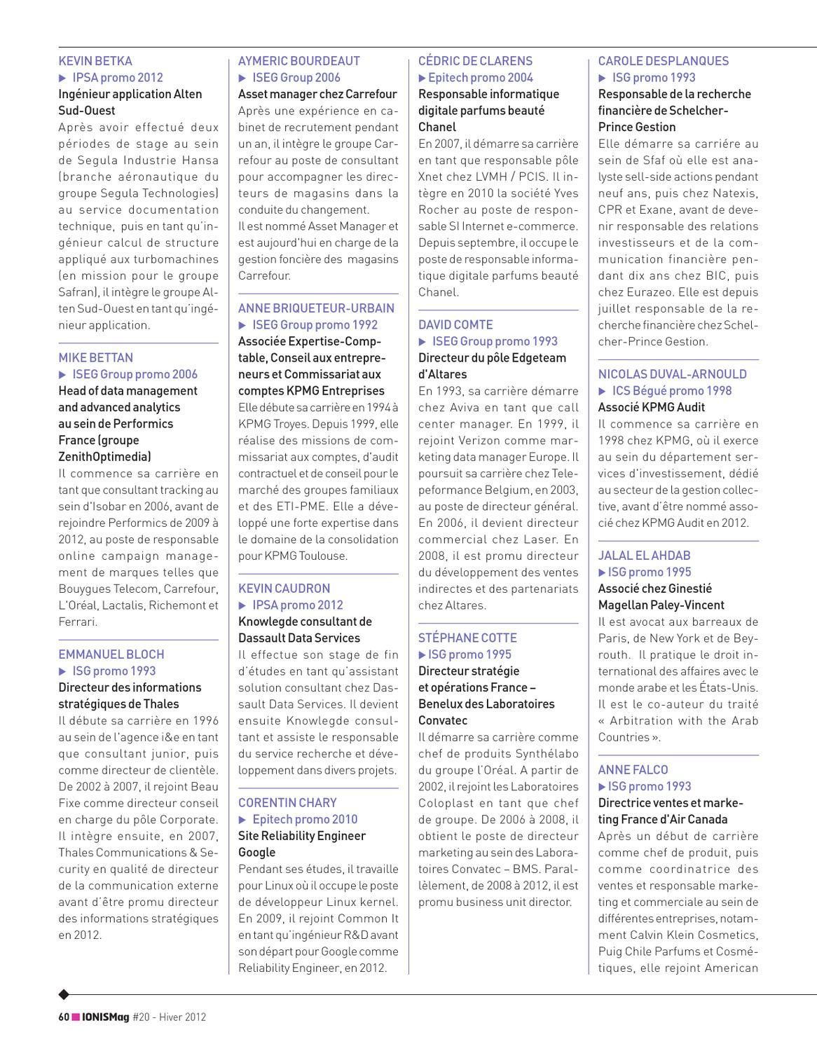 Ionis 20 Education Issuu Mag By Group iuTwZkOPX