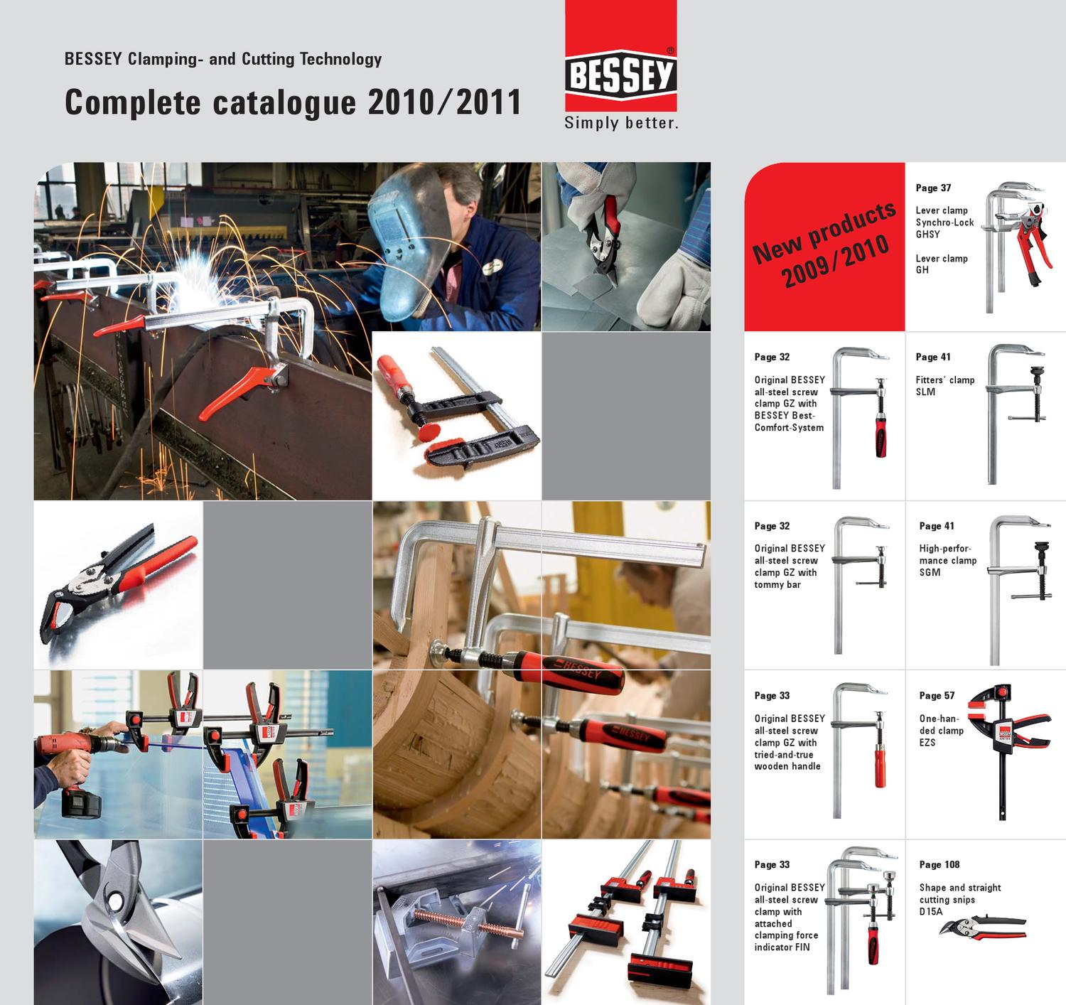 Bessey XCL2 Clippix XCL 55//60