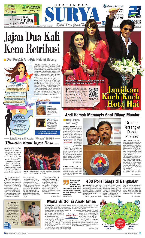 Surya Epaper 8 Desember 2012 by Harian SURYA - issuu 6c3e46c469