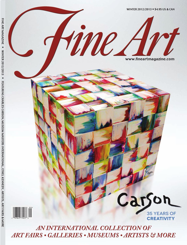 fine art magazine winter 2012 2013 by fine art magazine. Black Bedroom Furniture Sets. Home Design Ideas