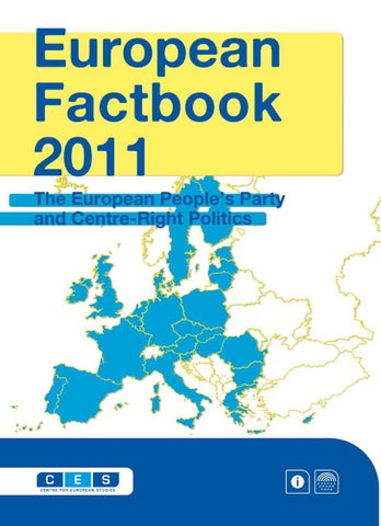 European Factbook 2011 by Wilfried Martens Centre for European