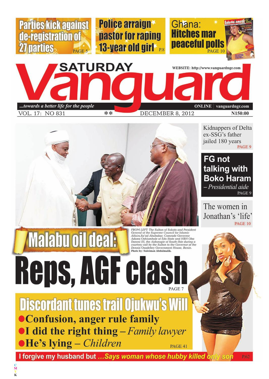 Reps, AGF Clash by Vanguard Media Limited - issuu