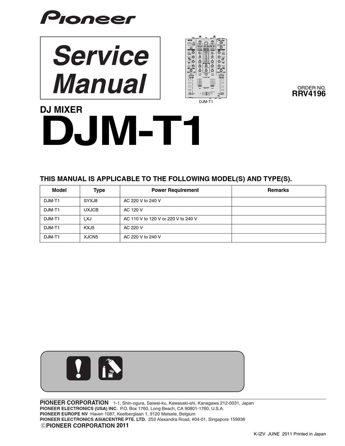 Dj jpg download user manual array pioneer djm t1 service manual by fu3l3r fu3l3r issuu rh issuu fandeluxe Gallery