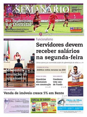 08 12 2012 - Jornal Semanário by Jornal Semanário - Bento Gonçalves ... e1f56820ba