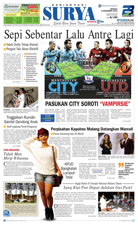 e paper surya edisi 9 desember 2012 by harian surya issuu