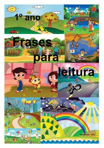 Frase De Leitura 1º Ano By Vitor Barros Issuu