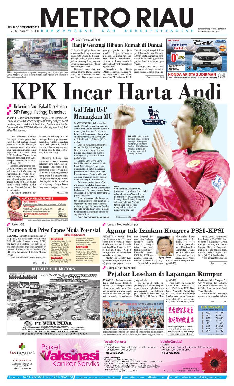 103122012 by Harian Pagi Metro Riau - issuu