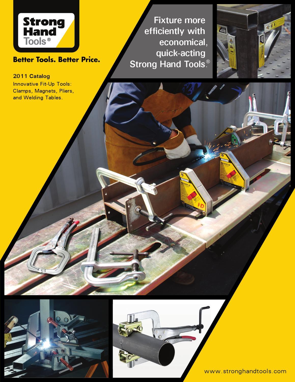 T-Handle Shark Clamp SC50 5 Capacity 1,000 Lbs Pressure Strong Hand Tools 5 Capacity