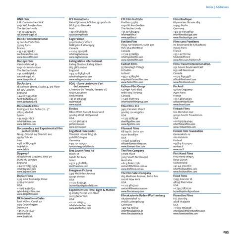 IDFA Catalogue 2012