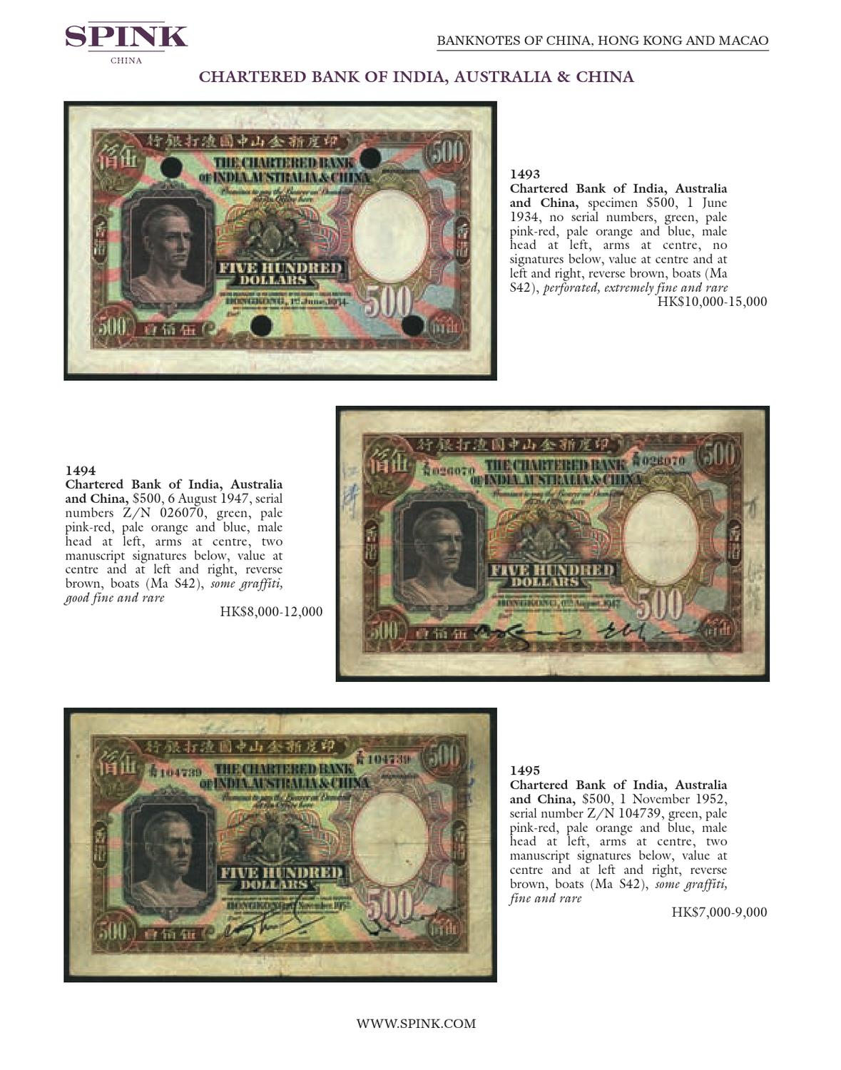 Banknotes, Bonds and Share Certificates and Coins of China