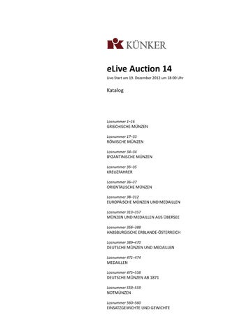 eLive Auction 49 by Fritz Rudolf Kuenker GmbH & Co. KG - issuu