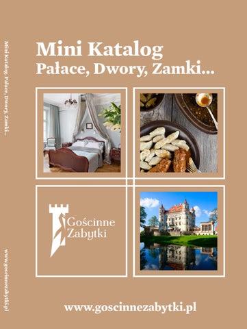 Mini Katalog Palace Dwory Zamki By Bodo Kaniewski Issuu