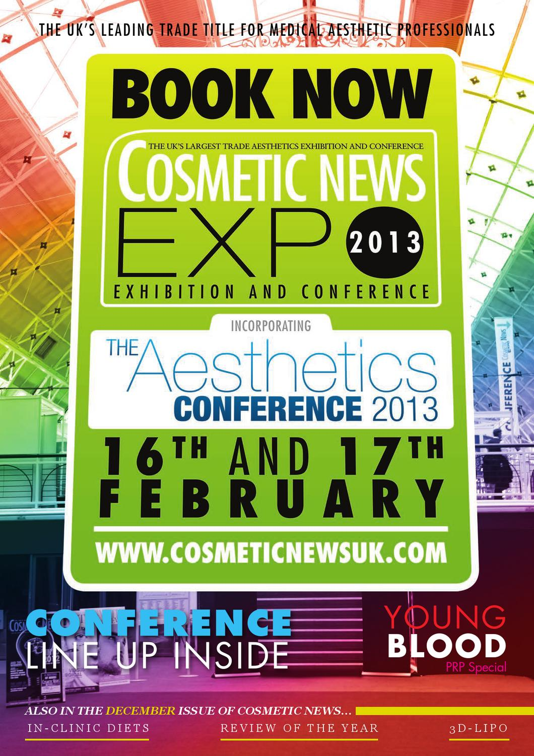 Cosmetic News UK Dec 2012 by webwax - issuu