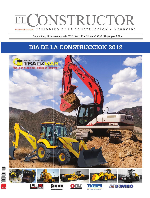 EL CONSTRUCTOR   DIA DE LA CONSTRUCCION 2012 by ELCO Editores - issuu