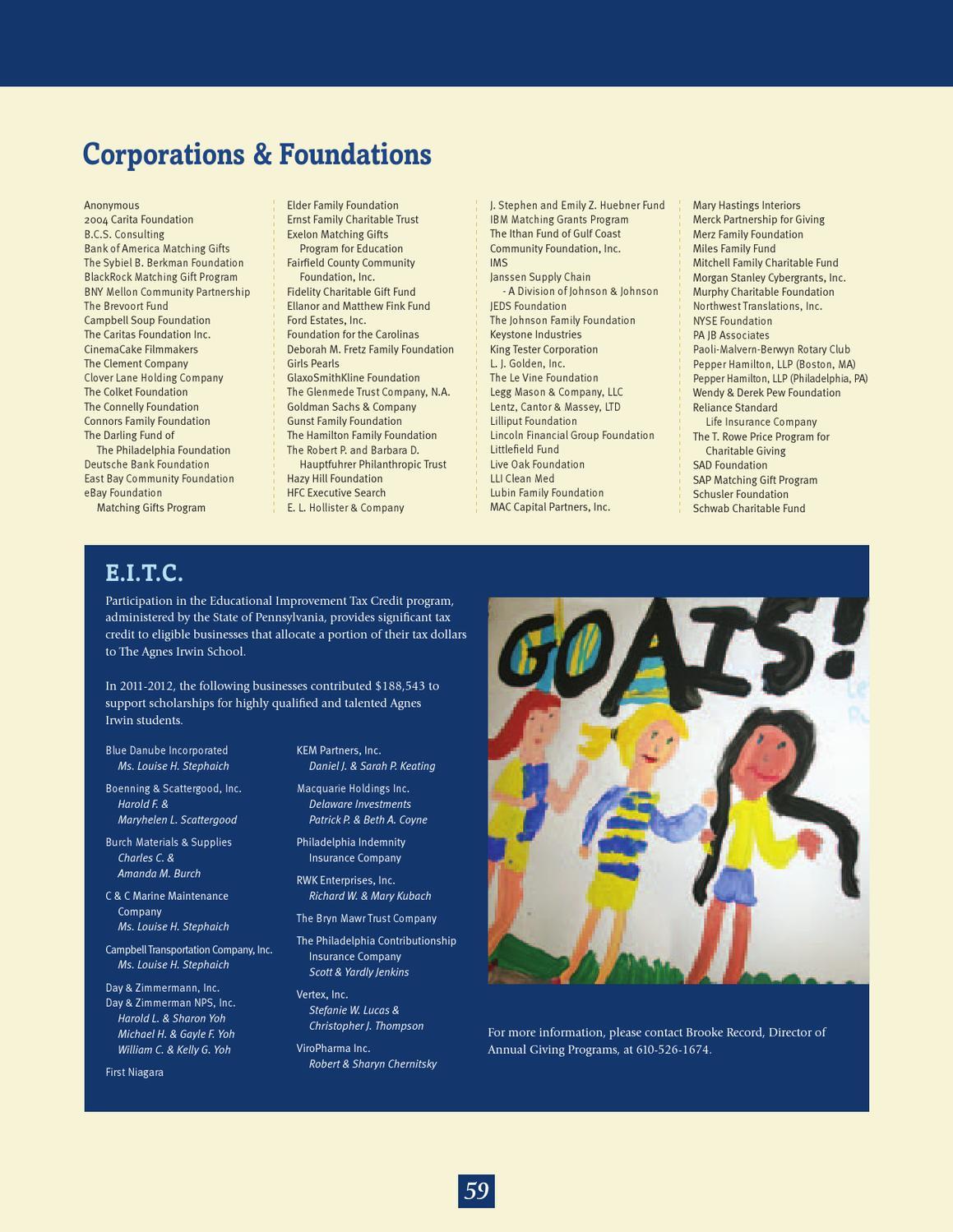 AIS Magazine Fall 2012 by The Agnes Irwin School - issuu