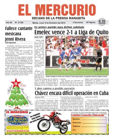 1c405229d15 10diciembre2012 by Diario El mercurio - issuu