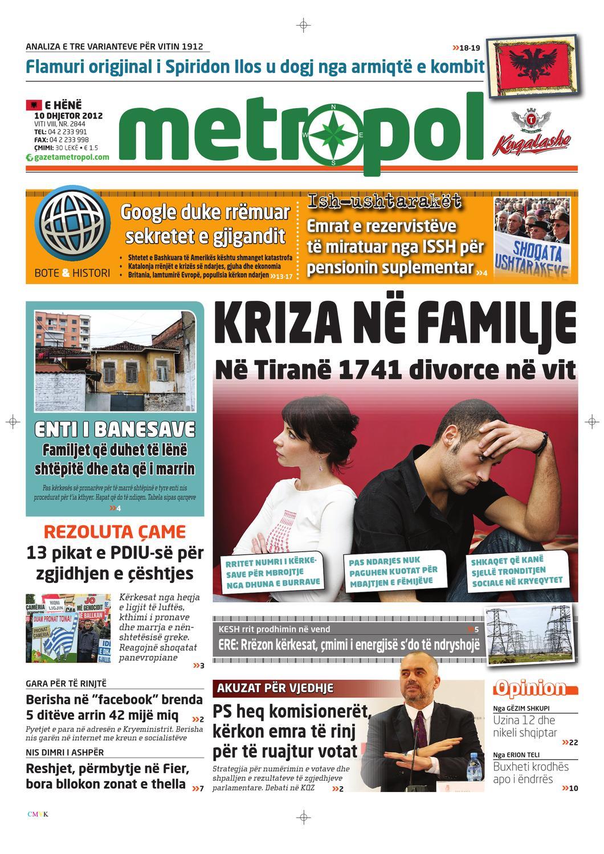 divorcet, ekb, rezoluta came by Gazeta Metropol - issuu
