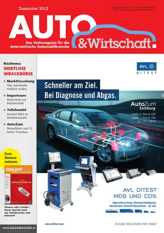 AUTO & Wirtschaft 12/2012 by A&W Verlag GmbH - issuu