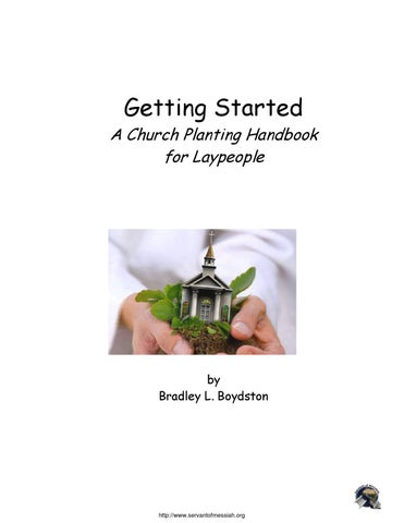 Getting a Church Started