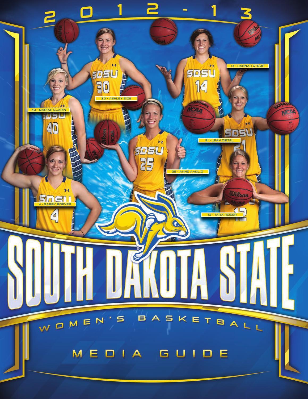 2012 13 south dakota state women u0027s basketball media guide by south