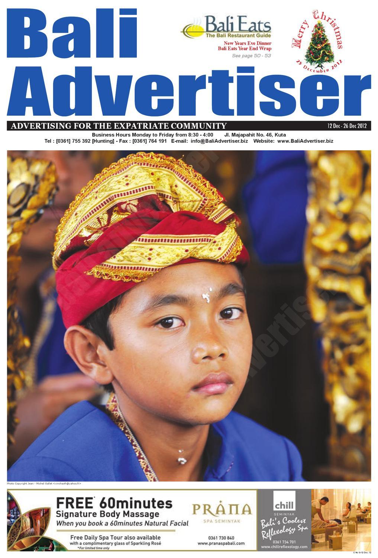 Ba 12 December 2012 By Bali Advertiser Issuu Imo Turbo 2gb Ram 32 Rom 13mp5mp 15ghz Quad Core