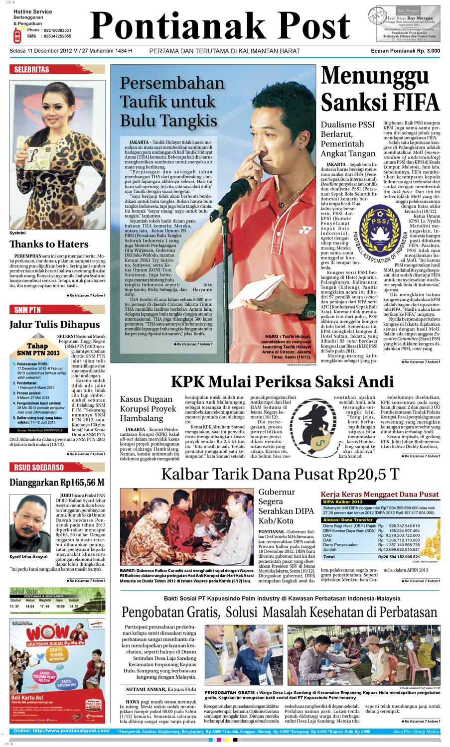 Pontianak Post By Pontianak Post Issuu