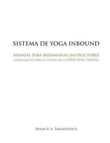 Sistema de Yoga Inbound by Escuela de Yoga Inbound - issuu