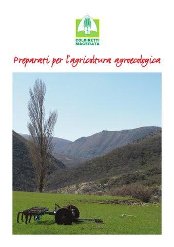 Preparati Per Lâu0026#x20AC;u0026#x2122;agricoltura Agroecologica