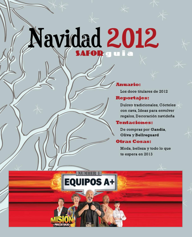 Extra Nadal 2012 by Saforguia MediaServiocio - issuu b8bb8e0414