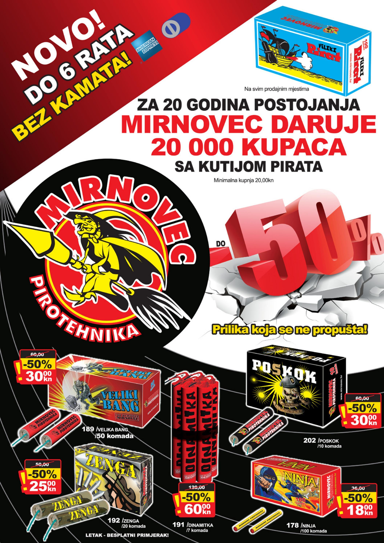Mirnovec Pirotehnika Letak 2012/2013 by Hrvoje Čemo