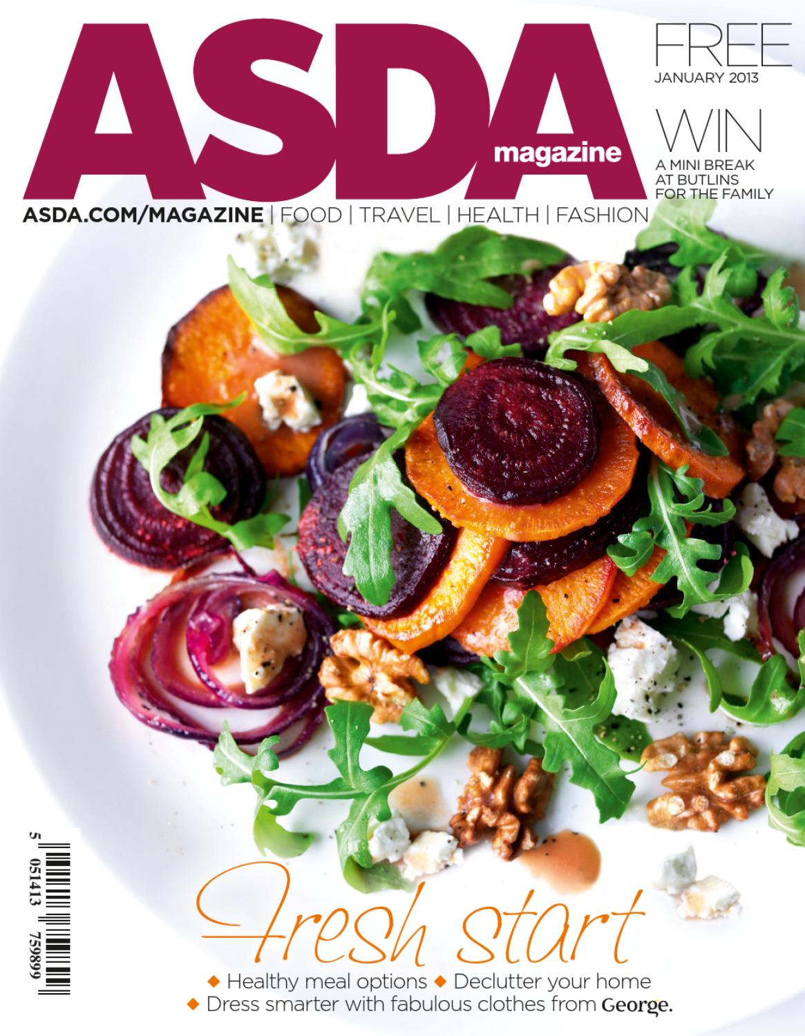 Marvelous Asda Magazine January 2013 By Asda Issuu Download Free Architecture Designs Scobabritishbridgeorg