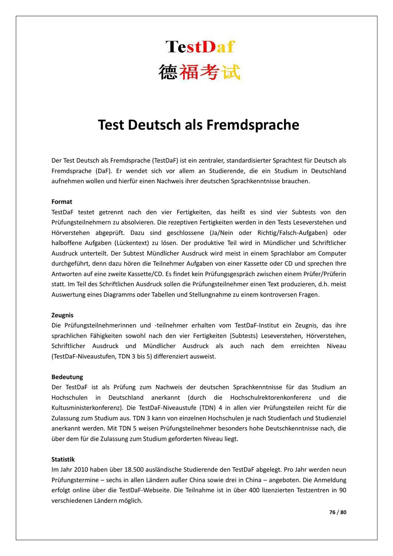 Testdaf Beispiel Mundlicher Ausdruck Aufgabe 11